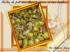 Recette : Pole de pommes de terre, champignons et lardons