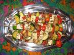 Recette vgtarienne: Brochettes