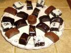 Recette Chocolats au caramel et chocolat  la pte d'amande