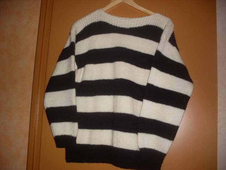 tricoter un pull taille 44