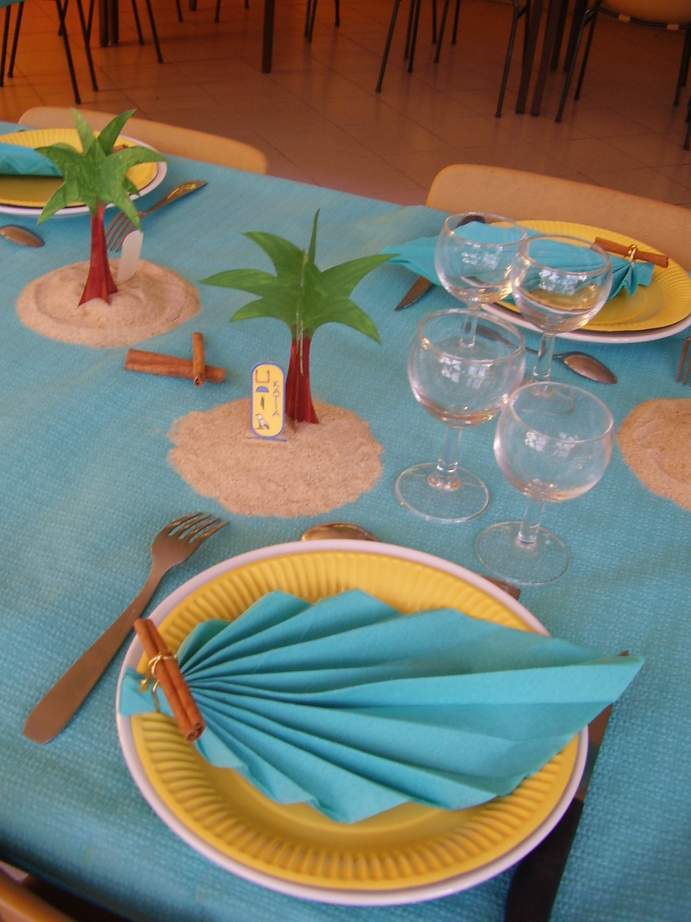 Decoration De Table Theme Les Iles