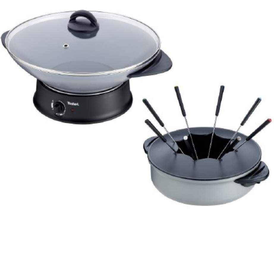 supertoinette tefal wok electrique fondue. Black Bedroom Furniture Sets. Home Design Ideas