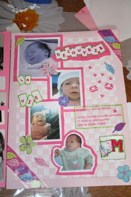 scrapbooking album grossesse naissance. Black Bedroom Furniture Sets. Home Design Ideas