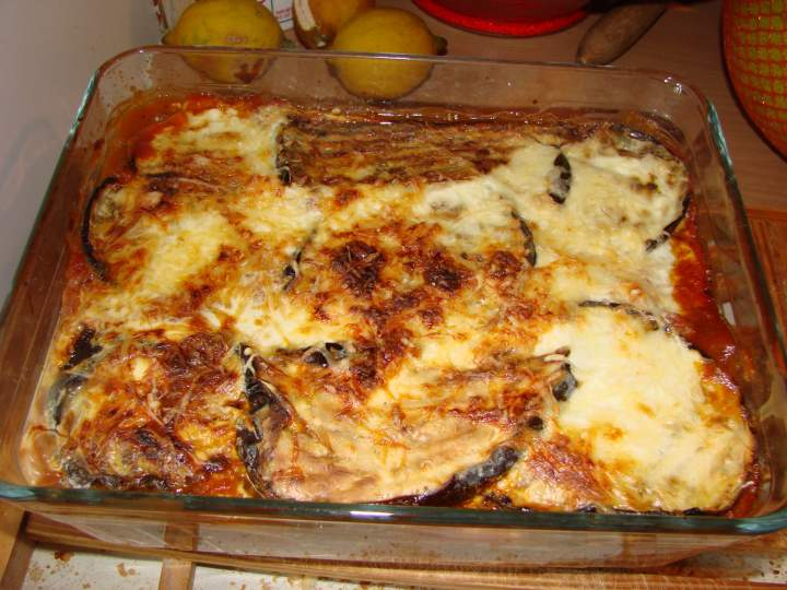 recette ww gratin d 39 aubergines photo. Black Bedroom Furniture Sets. Home Design Ideas