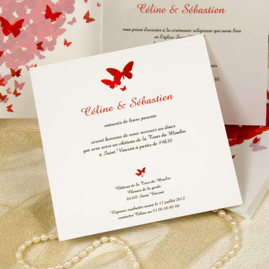 carte d invitation de mariage en forme de coeur votre heureux blog photo de mariage. Black Bedroom Furniture Sets. Home Design Ideas