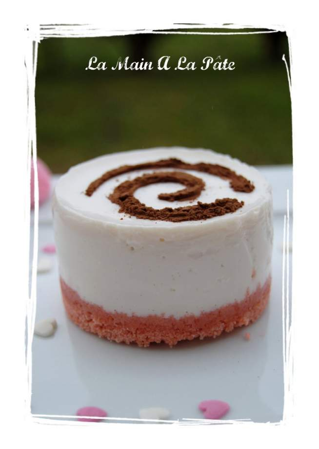 Ww: Cheesecakes sans cuisson aux biscuits roses + photos